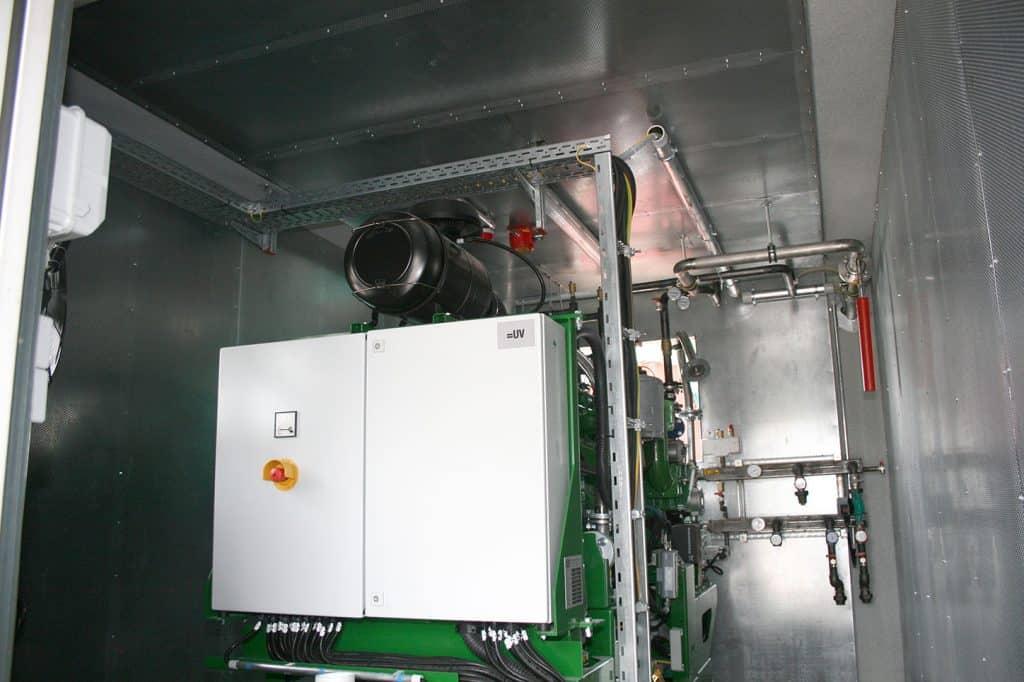 , Maschinenraum MR-200
