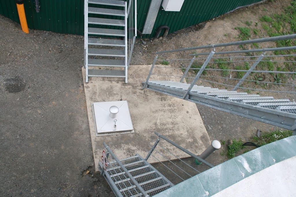 , Treppen und Übergänge