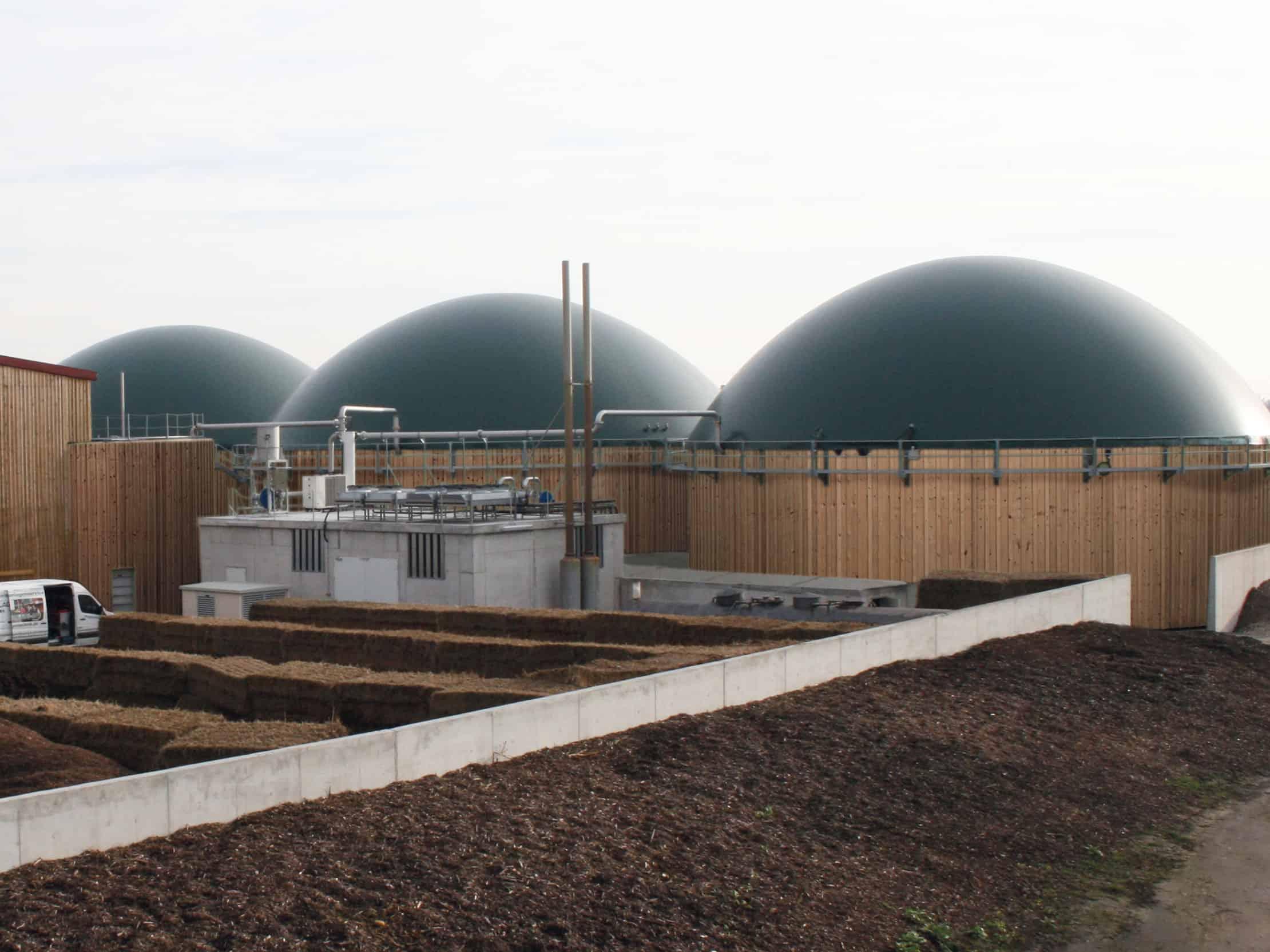 biogasanlagen, Biogasanlagen